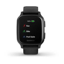 Смарт-часы Garmin Venu Sq NFC Music черные с серым (010-02426-10) #4