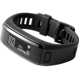 Фитнес-браслет garmin vivosmart hr черный большого размера. Артикул: 010-01955-15