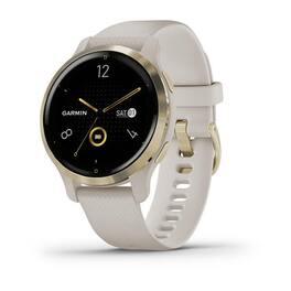 Смарт-часы Garmin Venu 2S, Wi-Fi, GPS, песочные, золото, с силиконовым ремешком (010-02429-11) #2
