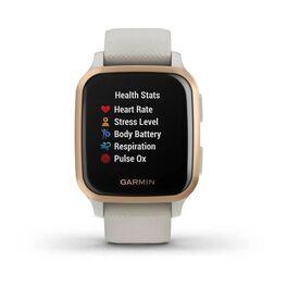 Смарт-часы Garmin Venu Sq NFC Music с золотистым безелем и песочным ремешком (010-02426-11) #7