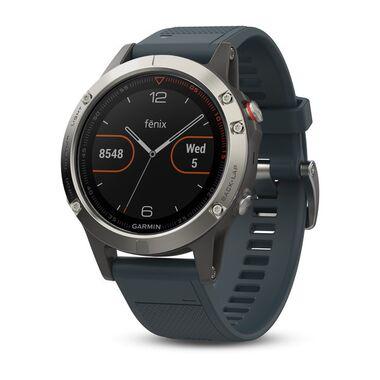 Garmin Fenix 5 с GPS, с синим ремешком