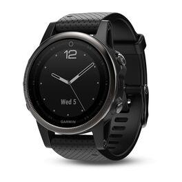 Спортивные часы garmin fenix 5s sapphire черные с черным ремешком. Артикул: 010-01685-11