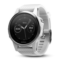 Спортивные часы garmin fenix 5s в белом корпусе с белым ремешком Garmin. Артикул: 010-01685-00