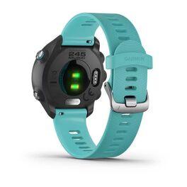 Спортивные часы Garmin Forerunner 245 Music, GPS, Wi-Fi, Black/Aqua (010-02120-32) #2