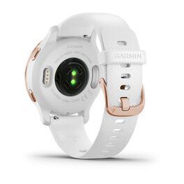 Смарт-часы Garmin Venu 2S, Wi-Fi, GPS, белые, розовое золото, с силиконовым ремешком (010-02429-13) #5