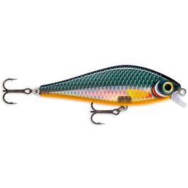 Воблер rapala super shadow rap медленно тонущий 1-1,4м, 16см, 77гр hlw. Артикул: SSDR16-HLW