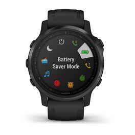 Мультиспортивные часы Garmin Fenix 6S PRO с GPS, черные с черным ремешком (010-02159-14) #6